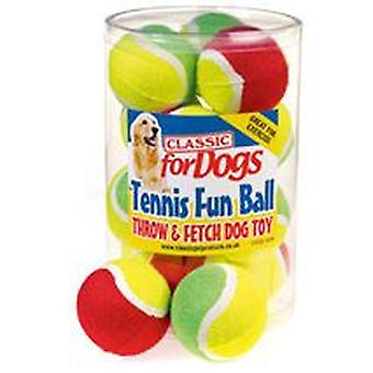 Classic For Pets Two Tone Tennis Fun Ball (Dogs , Toys & Sport , Balls)