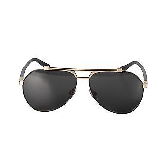 Dolce und Gabbana DG2189 01/87 61 Aviator Sonnenbrille