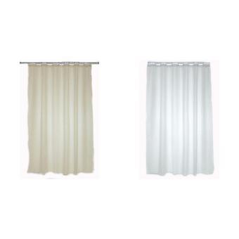 Blue Canyon Plain Shower Curtain