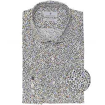 Thomas Maine Tailored Fit Floral Roma Shirt