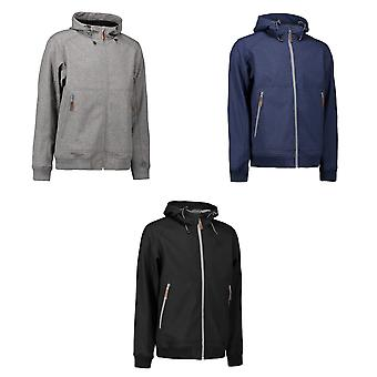 ID Mens Hooded Full Zip Softshell jas