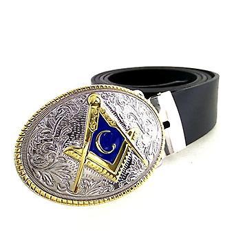 Cowboy masonic belt