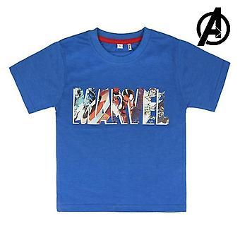 Child's Kurzarm T-Shirt Marvel 73492