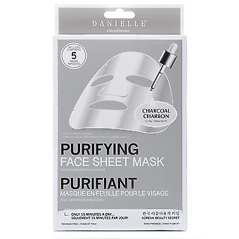 Danielle Creations Charcoal Purifying & Detoxifying Sheet Mask