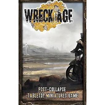 Wreck Age Postcollapse Tabletop Skirmish Game basic rules by Zaleski & Anton