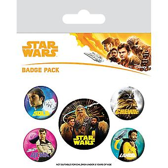 Solo Un Star Wars Story Pin Buton Insigne Set
