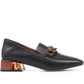 Staccato Womens Lucille Leather Snaffle Loafer