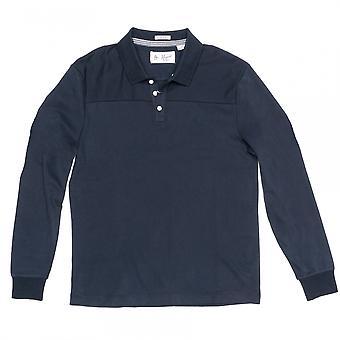 Original Penguin Original Penguin Long Sleeve Pieced Mens Polo Shirt