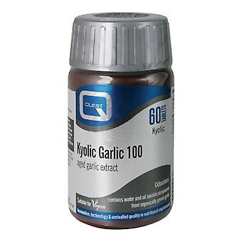 Quest Vitamins Kyolic Garlic Extract 1000mg Tabs 60 (601923)