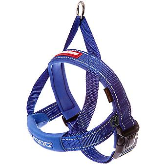 Ezydog Arnés Quick Fit Azul (Honden , Halsbanden en Riemen , Tuigjes)
