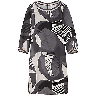 Sandwich Clothing Grey Bold Print Shift Dress