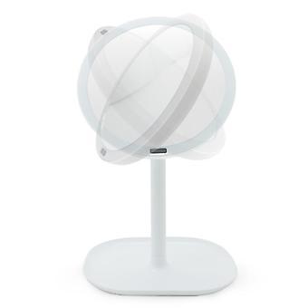 Meikkipeili valaistus ja 360 asteen kierto - Valkoinen