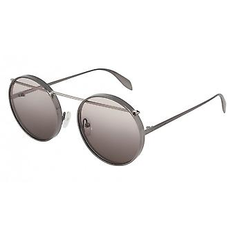 Alexander Mcqueen AM0137S 003 Ruthenium/Grey Gradient Sunglasses