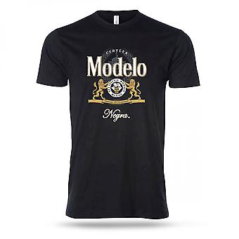 Negra Modelo Crest Bottle Label T-Shirt