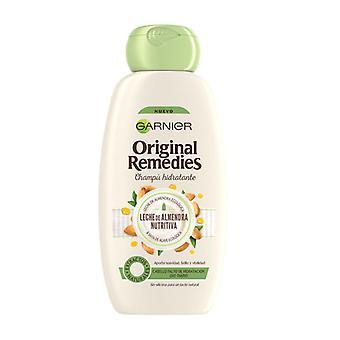Shampoo ORIGINAL REMEDIES leche de almendras Garnier (300 ml)