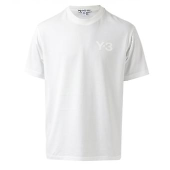 Men's Y-3 Classic Logo T-Shirt in weiß