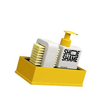 Shoe Shame Unisex Lose The Dirt Kit Cleaning Gel 150Ml & Brush