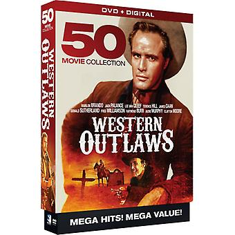 Western Outlaws: 50 Megapack [DVD] USA import