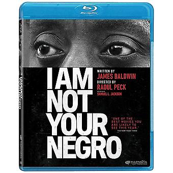 I Am Not Your Negro [Blu-ray] USA import