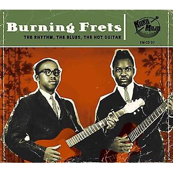 Various Artist - Burning Frets [CD] USA import
