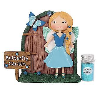 Etwas anderes Amelia und Bluebell Fairy-Tür-Geschenk-Set