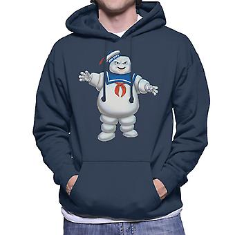 Ghostbusters Stay Puft Marshmallow Man Men's Hooded Sweatshirt