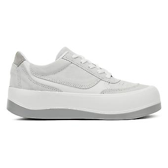 TOWER London Hoxton Womens Grey / White Trainers