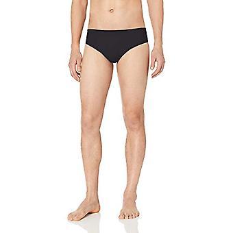 Essentials Men's Swim Brief, Black, Medium