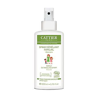 Organic family detangling spray 200 ml