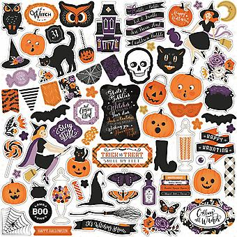 Echo Park Bewitched 12x12 Inch Sticker Sheet