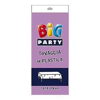 Lila Kunststoff Tischdecke - 137 x 274cm Party-Dekoration