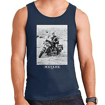 Mayans M.C. Motorcycle Club Ezekiel Reyes EZ Black And White Men's Vest
