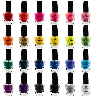 SHANY Cosmopolitan Nail Polish set - Pack of 24 Colors - Premium Quality & Quick Dry