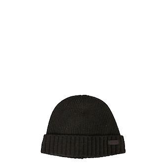 Barbour Mha0449gn91 Men's Green Wool Hat