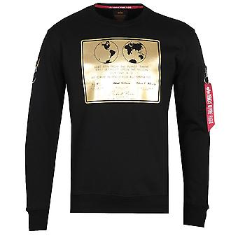 Alpha Industries Lunar Black Sweatshirt