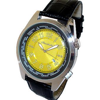 HEINRICHSSOHN Gdansk Champagne HS1003Y heren horloge