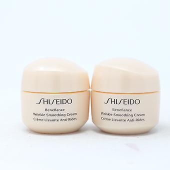 Shiseido benefiance تجعد تجانس كريم 2X0.53oz / جديد