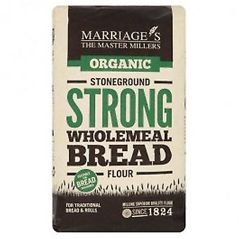 W & H MARRIAGE & SON - Organic Strong Stoneground Wholemeal Bread Flour