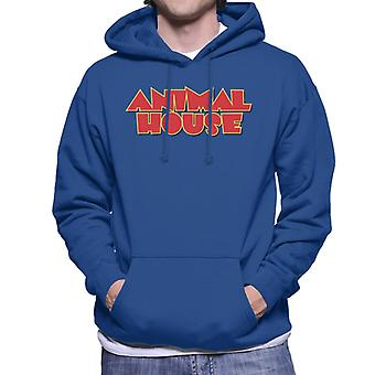 Animal House Red Logo Men's Hooded Sweatshirt