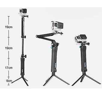 3 Way Grip Waterproof Monopod, Selfie Stick- Camera Tripod Stand