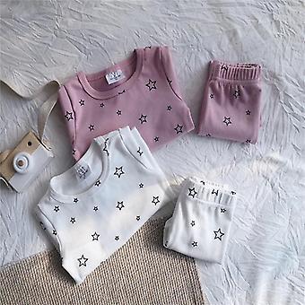 Vauvan univaatteet, Puuvilla Tyttövauva Pyjama