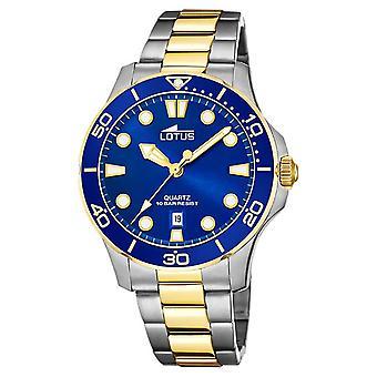Lotus Women's Two-Tone Steel Bracelet | Blue Dial L18763/1 Watch