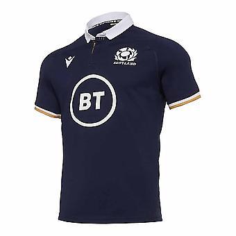 2020-2021 اسكتلندا الرئيسية الركبي النسخة المتماثلة قميص