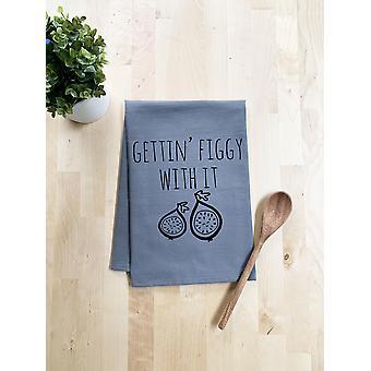 Gettin & apos; Figgy معها منشفة طبق