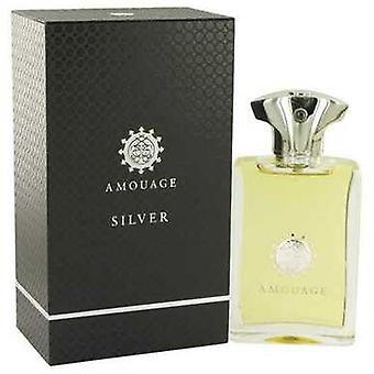 Amouage Silver by Amouage Eau de Parfum Spray 3,4 oz (miehet) V728-515266