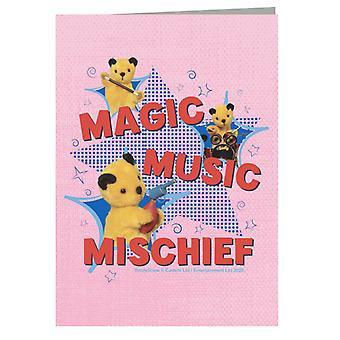 Sooty Magic Music Mischief Greeting Card