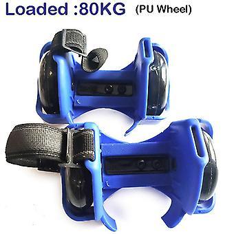 Adult Flashing Roller Skating Shoes, Whirlwind Pulley Flash Wheel Heel
