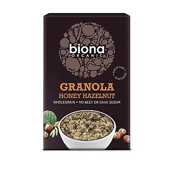 Biona Orgaaninen Hunaja Pähkinä Rapea Granola ei lisättyä sokeria 375g x6