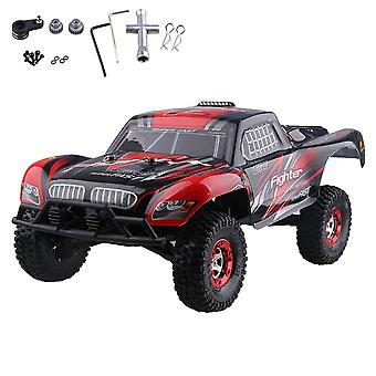 Red Black FY-01 2.4G RC1:12 High Speed Short Truck Chassis Kit for FY