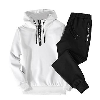 Men Casual Set, Hooded Spring, Autumn, Men's Sportswear, Hoodies+pants Sets
